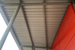 Taubenabwehrsystem Taubennetz Vordach